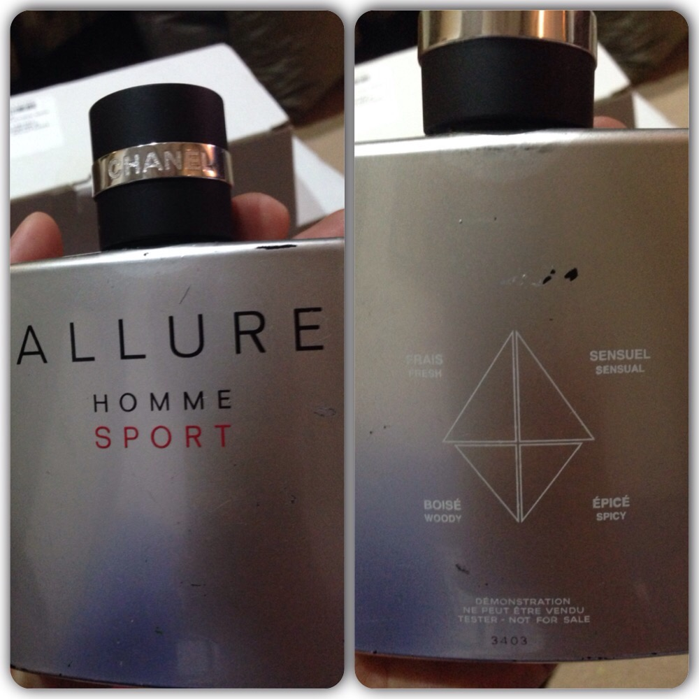 chanel allure homme sport 100ml edt tester fragrankita. Black Bedroom Furniture Sets. Home Design Ideas
